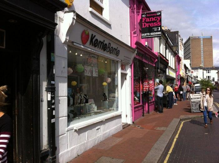 Brighton North Laines Shops